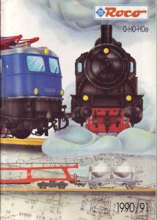 ROCO KATALOG 0, H0 und H0e 1992 / 1993