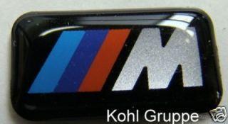 orig. BMW M Emblem Sticker Aufkleber