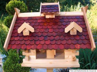 Vogelhaus Vogelhäuser Vogelfutterhaus Vogelhäuschen aus Holz