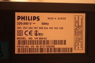 Philips VR 969/02    S/VHS Videorecorder