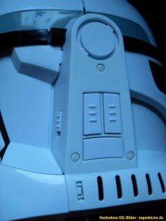 Orig. Star Wars Clone Wars Clone Trooper Helm Sound Nachlass Erbe