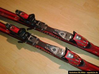 Atomic BETA CARV 10.16 Race Carving Ski mit Bindung 170cm rot schwarz