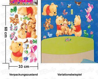 Wandaufkleber Wandtattoo Wandsticker Winniepooh & Freunde Kinderzimmer