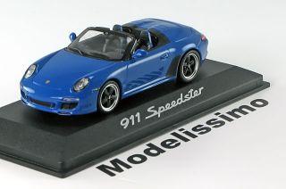 43 Minichamps Porsche 911 (997) Speedster 2010 blue