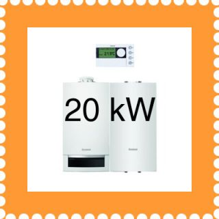 Buderus Paket W22 GB172 20 Brennwertheizung Kessel Gas