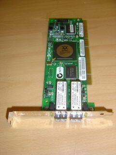 Original HP A6826 60001 QLogic 2312 Dual Port 2GB Fibre Channel PCI X
