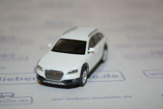 Herpa, Audi A4 Avant weiß, H0, OVP, 024242 002