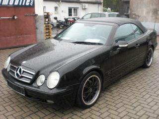 Mercedes Benz CLK Cabrio 230 K Avantgarde 18zoll Alus /