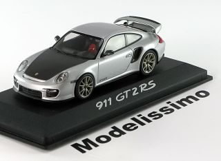 43 Minichamps Porsche 911 (997) GT2 RS 2010 silver