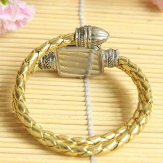 Fashion Womens Girls Snake Style Bangle Bracelet Quartz Wrist Watch