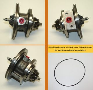 TURBOLADER RUMPFGRUPPE OPEL CORSA D Van 1.3 CDTI 55 kW 75 PS