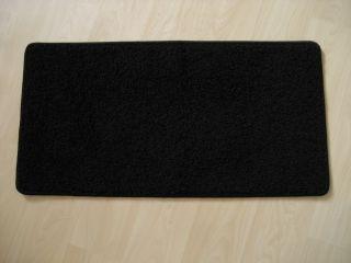 2171 neu Matte Teppich Läufer schwarz mini shag 82x42