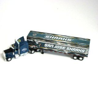 NHL San Jose Sharks 2007/8 Tractor Trailer 1:80 Scale