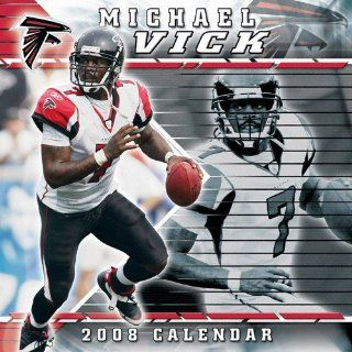 Michael Vick Atlanta Falcons 2008 Wall Calendar