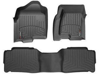 2007 2012 Nissan Altima Black WeatherTech Floor Liner (Full Set