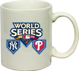 Philadelphia Phillies 2009 World Series Coffee Mug