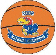 Kansas Jayhawks 2008 NCAA National Champions Basketball
