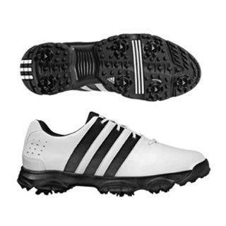 Adidas 2009 Mens Beacon Golf Shoe   White/White/Black