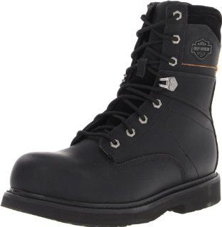 Harley Davidson Mens John Motorcycle Boot Shoes