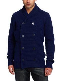 G Star Mens Anchor Cardigan Knit Long Sleeve Cardigan