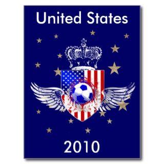 US Soccer Kings Soccer futbol crest mousepad