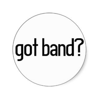 Heart Marching Band Sticker