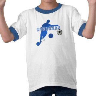 2014 World Cup Soccer Honduras flag gift futbol Tee Shirts