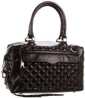 Rebecca Minkoff Mab Stud Shoulder Bag,Black,One Size: Shoes