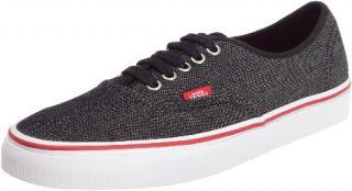 Vans Authentic Shoes (Denim) Black/True White Mens Shoes