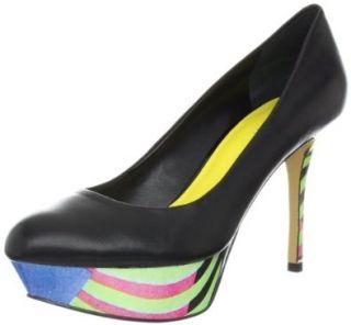 Nine West Womens Mendoza Platform Pump Shoes