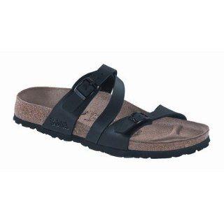Birkis Womens Salina Black Birko Flor 40 R US Shoes