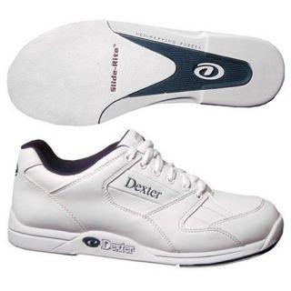 Dexter Boys Ricky Jr Bowling Shoes  White
