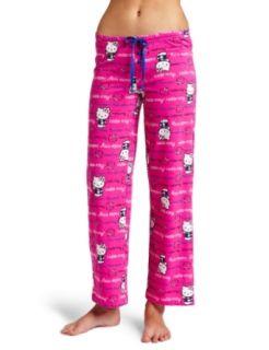 Hello Kitty Womens Pink Beauty Pajama Pant, Pink Print, X