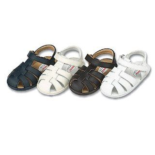 Baby Girls Boys Navy Fisherman Style Sandals 3 IM Link Shoes