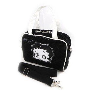 french touch bag Betty Boop black white. Shoes