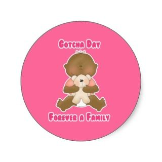 Gotcha Day Forever a Family Sticker