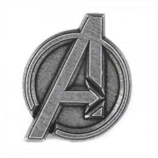 Marvel Avengers Logo Silver Buckle Clothing