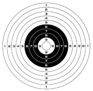 Gamo Paper Targets (100 pack) Sports & Outdoors