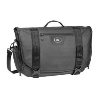 Ogio Rivet Laptop/Tablet Messenger Bag (Black, Large
