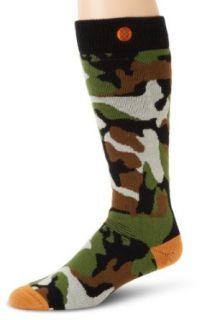 Stance Mens Combat Socks, Camo, Small/Medium Clothing