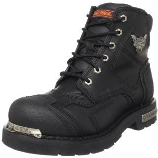 Harley Davidson Mens Stealth Riding Boot,Black,17 M Shoes