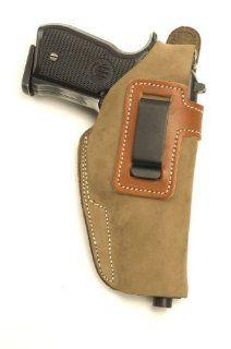 Glock 19, Glock 23 Concealed Carry Suede IWB   Inside The