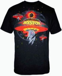 Boston Spaceships black t shirt Clothing