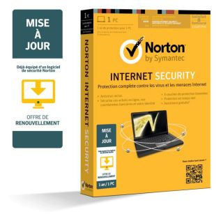 2013   MaJ   1an 1 Poste   Achat / Vente ANTIVIRUS Norton IS 2013