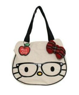 Hello Kitty Nerd Head Tote Clothing