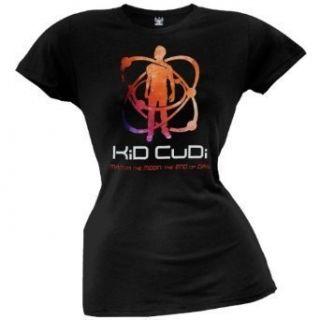 Kid Cudi Atomic Cudi Ladies Black Lightweight T Shirt