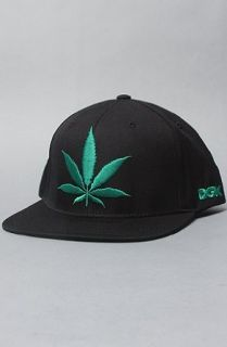 DGK The Stay Smokin Snapback Cap in Black: Clothing