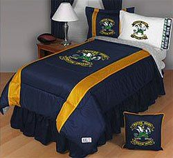 NCAA Notre Dame Fighting Irish Pillow Case Logo Sports