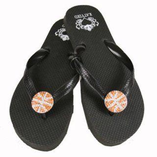Basketball Bling Flip Flops Shoes