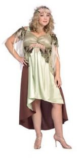 Cut (Women 16 22) Mother Nature Costume (shoes not included) Clothing